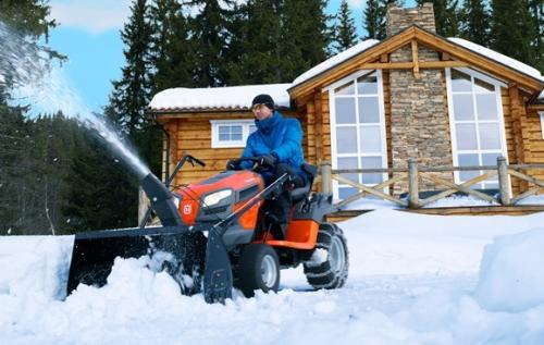 Роторные щетки для уборки снега